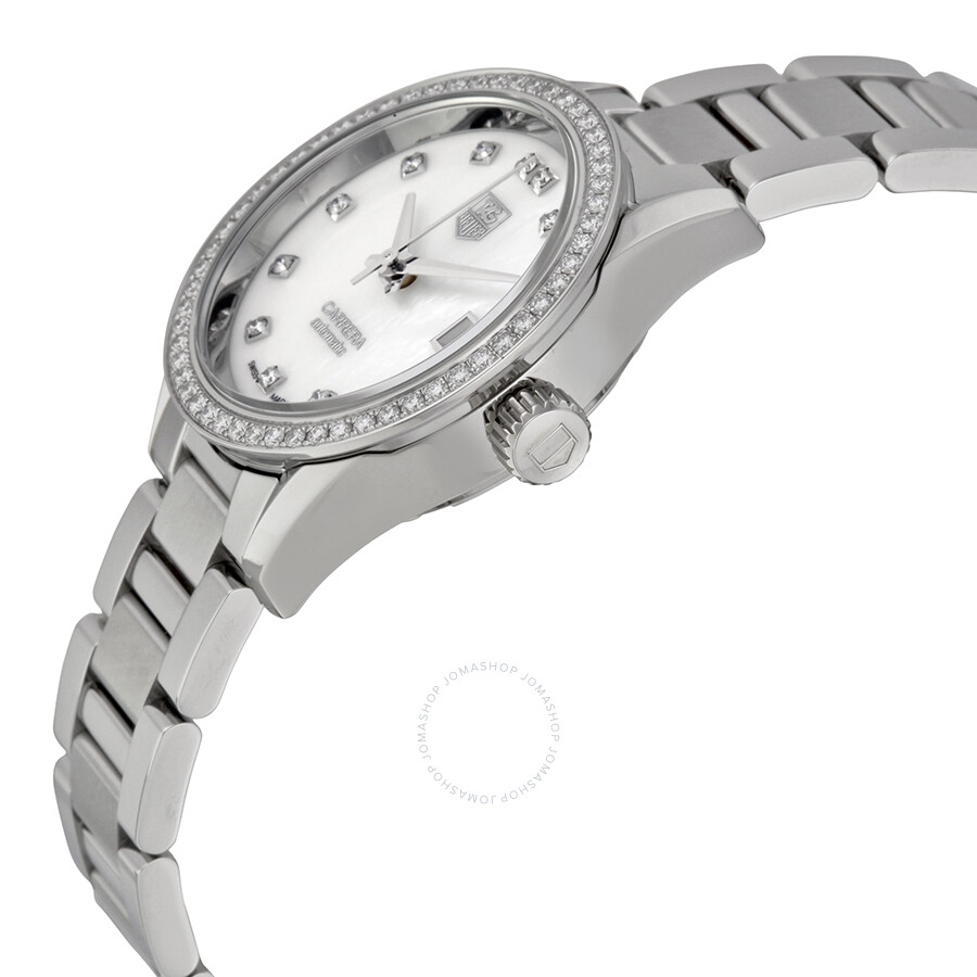 Tag heuer carrera automatic ladies watch war2415 ba0776 carrera tag heuer watches jomashop for Tag heuer discount