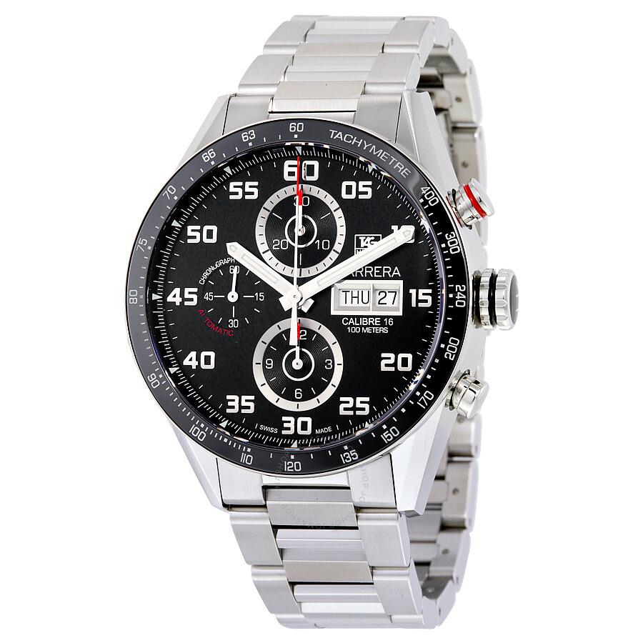 Tag Carrera Watch >> Tag Heuer Carrera Automatic Chronograph Men S Watch Cv2a1r Ba0799