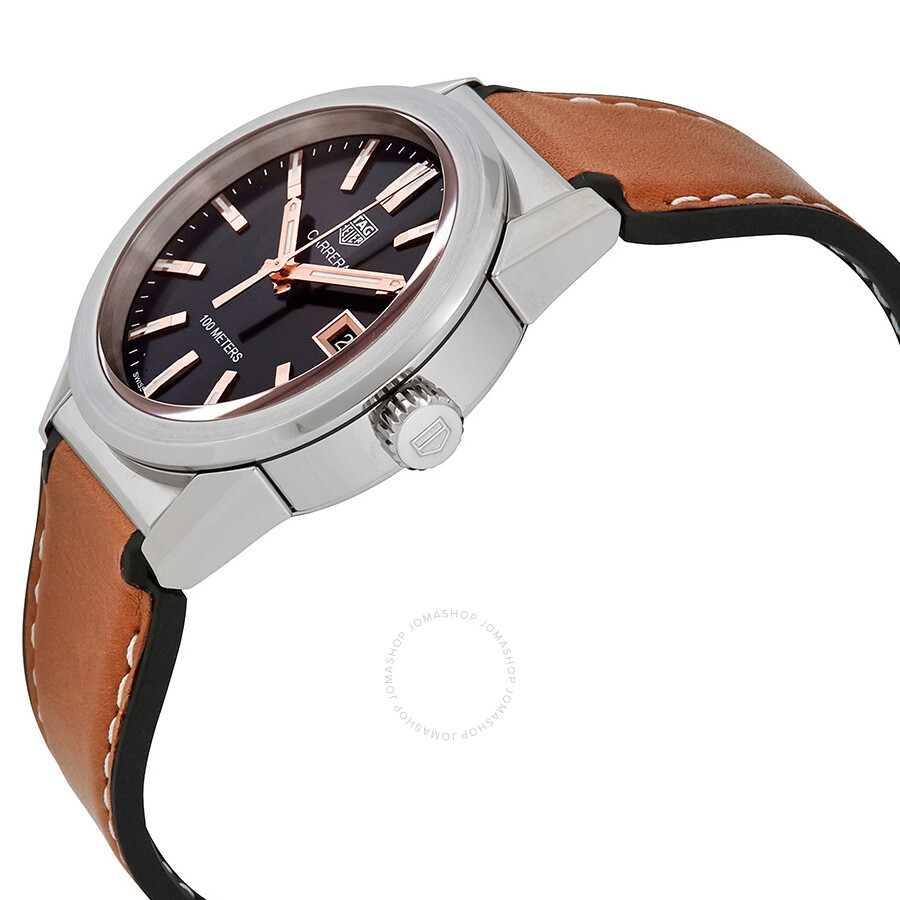 Tag Heuer Carrera Black Dial Midsize Watch Wbg1311ft6116 Pencil Case Boxes 6116 Ft6116 Wbg1311