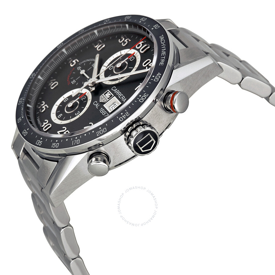 Tag heuer carrera automatic chronograph men 39 s watch car2a10 ba0799 carrera tag heuer for Tag heuer automatic