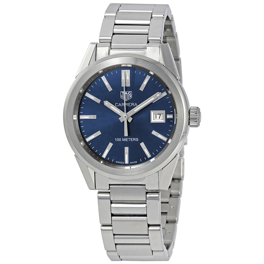 9fd7d283e0f Tag Heuer Carrera Midsize Blue Dial Stainless Steel Watch WBG1310 ...