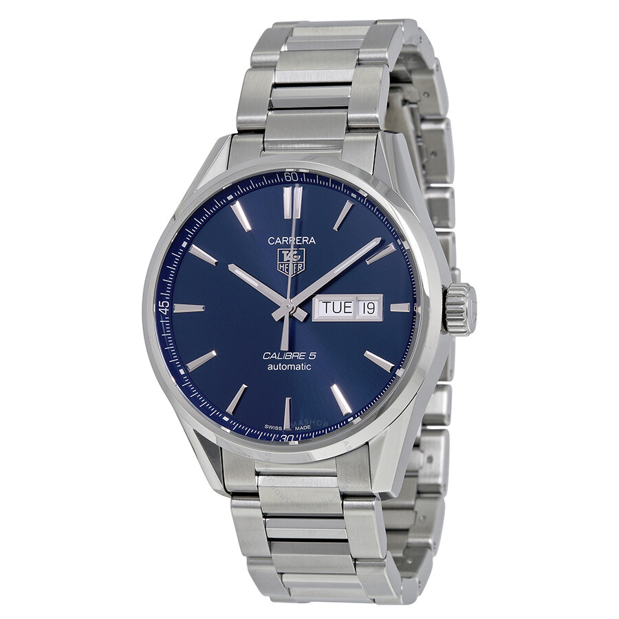 ad315f4a49c1f Tag Heuer Carrera Blue Dial Stainless Steel Men s Watch Item No.  WAR201E.BA0723