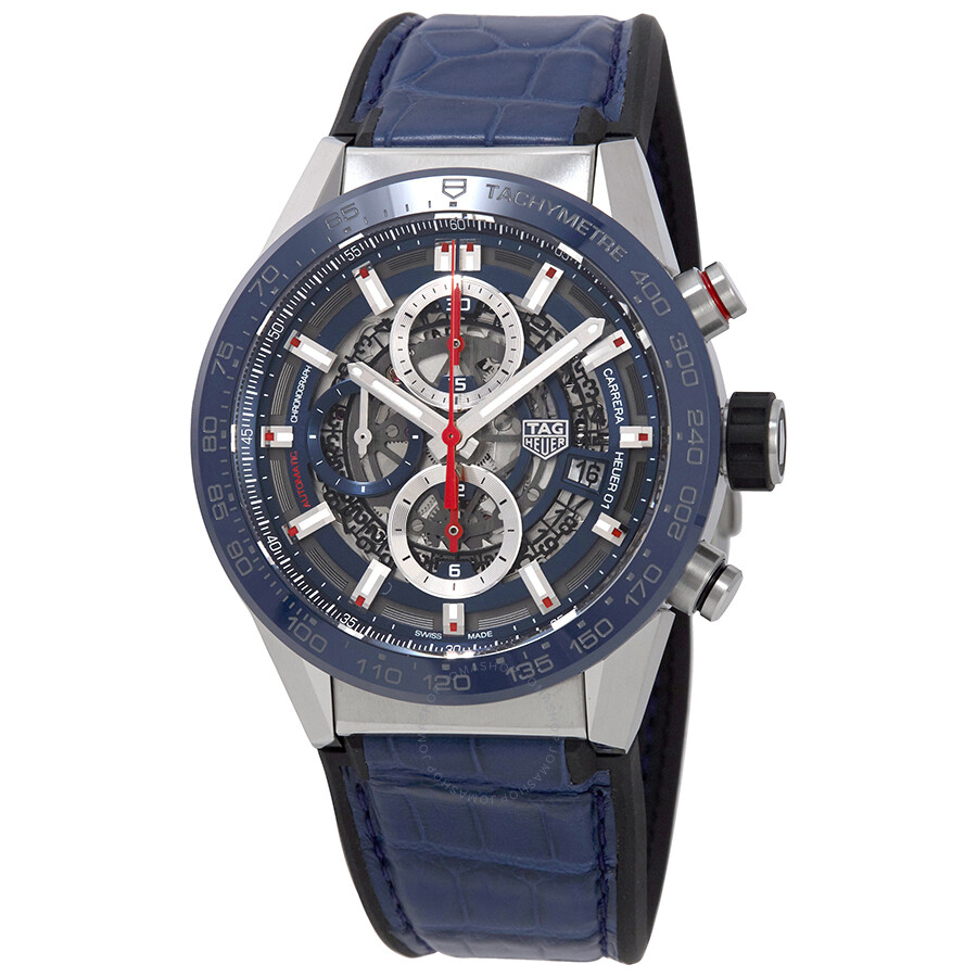 5c114f3ffbb Tag Heuer Carrera Chronograph Automatic Men s Watch CAR201T.FC6406 ...