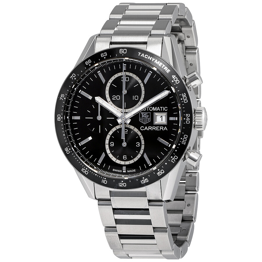 Tag heuer carrera calibre chronograph men 39 s watch cv201al ba0723 carrera tag heuer watches for Tag heuer chronograph