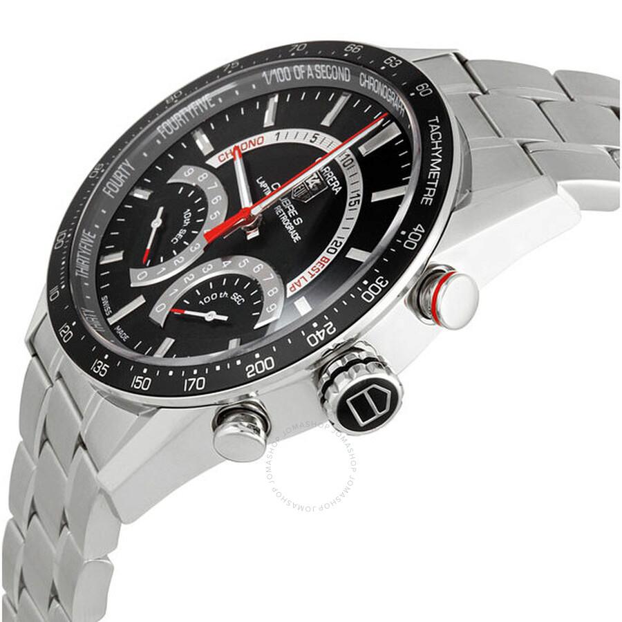 Laptimer 2000 >> TAG Heuer Carrera Calibre S Laptimer Men's Watch CV7A10.BA0795 - Carrera - Tag Heuer - Watches ...