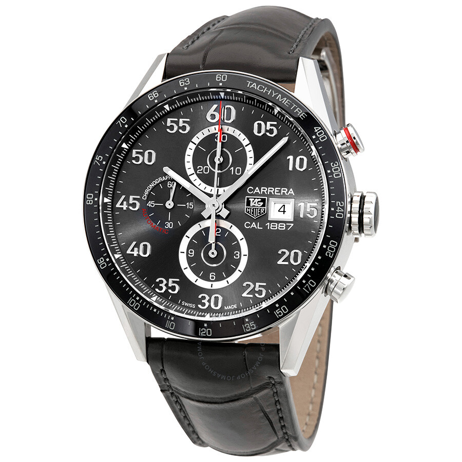 Tag heuer carrera chronograph automatic men 39 s watch car2a11fc6313 carrera tag heuer for Tag heuer chronograph