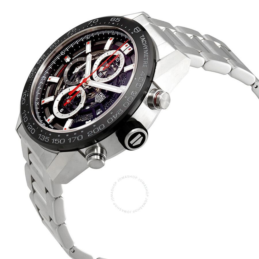 Tag Heuer Carrera Chronograph Automatic Men s Watch CAR2A1W.BA0703 ... 8eee288b72f