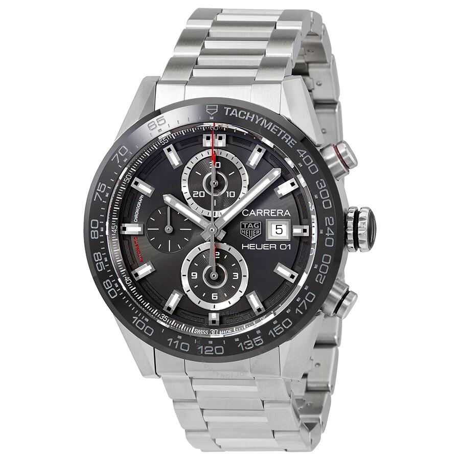 ded537e530f63 Tag Heuer Carrera Chronograph Automatic Men s Watch CAR201W.BA0714 ...