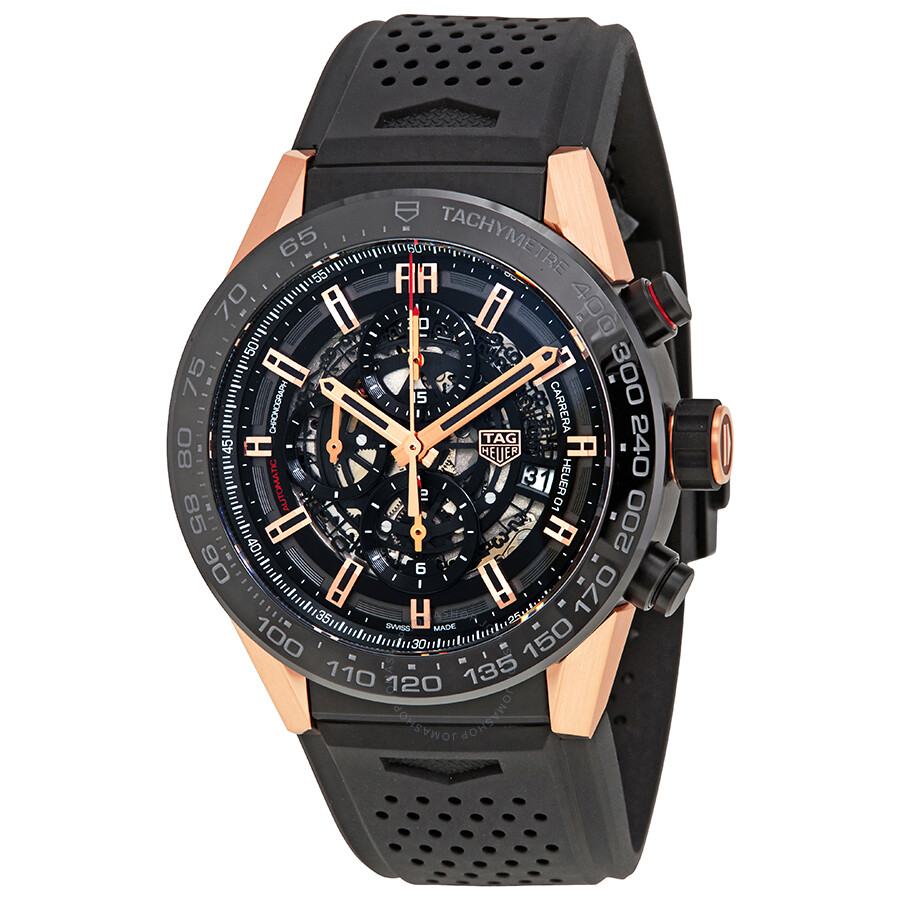 Tag heuer carrera chronograph automatic men 39 s watch car2a5a ft6044 carrera tag heuer for Tag heuer automatic