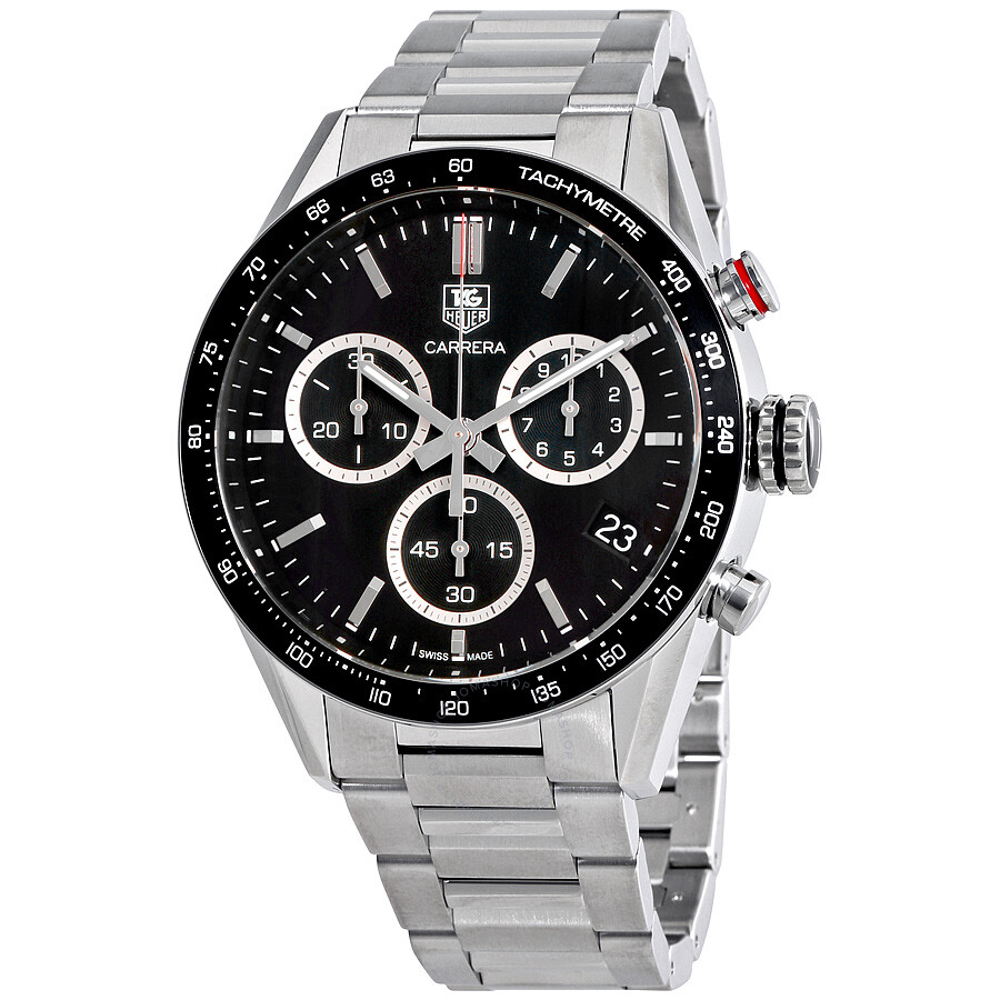 tag heuer carrera chronograph black dial men s watch cv1a10 ba0799 tag heuer carrera chronograph black dial men s watch cv1a10