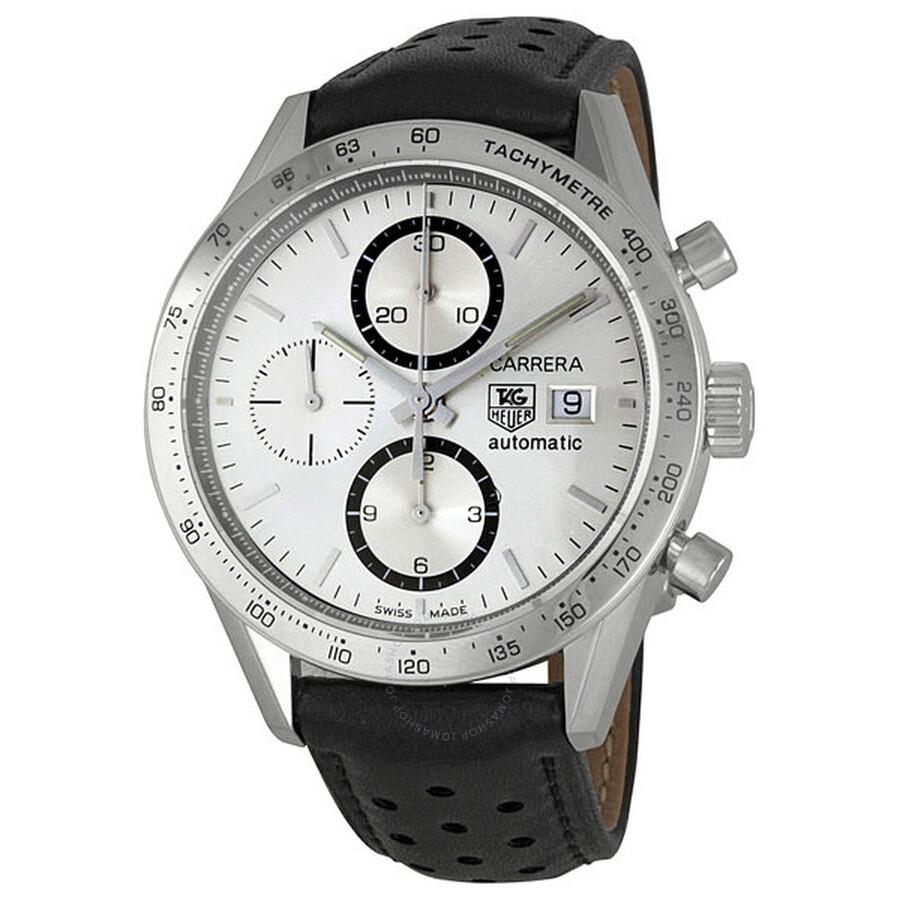 tag heuer carrera chronograph men 39 s watch cv2017 fc6233. Black Bedroom Furniture Sets. Home Design Ideas