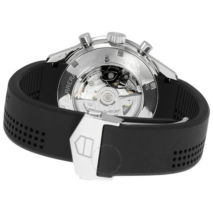 Tag Heuer Carrera Classic Tachymeter Black Men s Watch CV2014.FT6007 ... 36ee0d156ac
