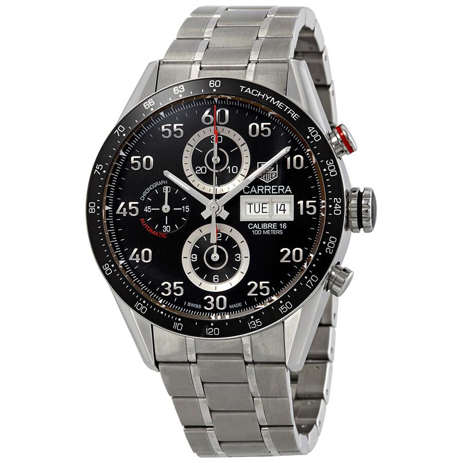 Tag Carrera Watch >> Tag Heuer Carrera Day Date Men S Watch Cv2a10 Ba0796