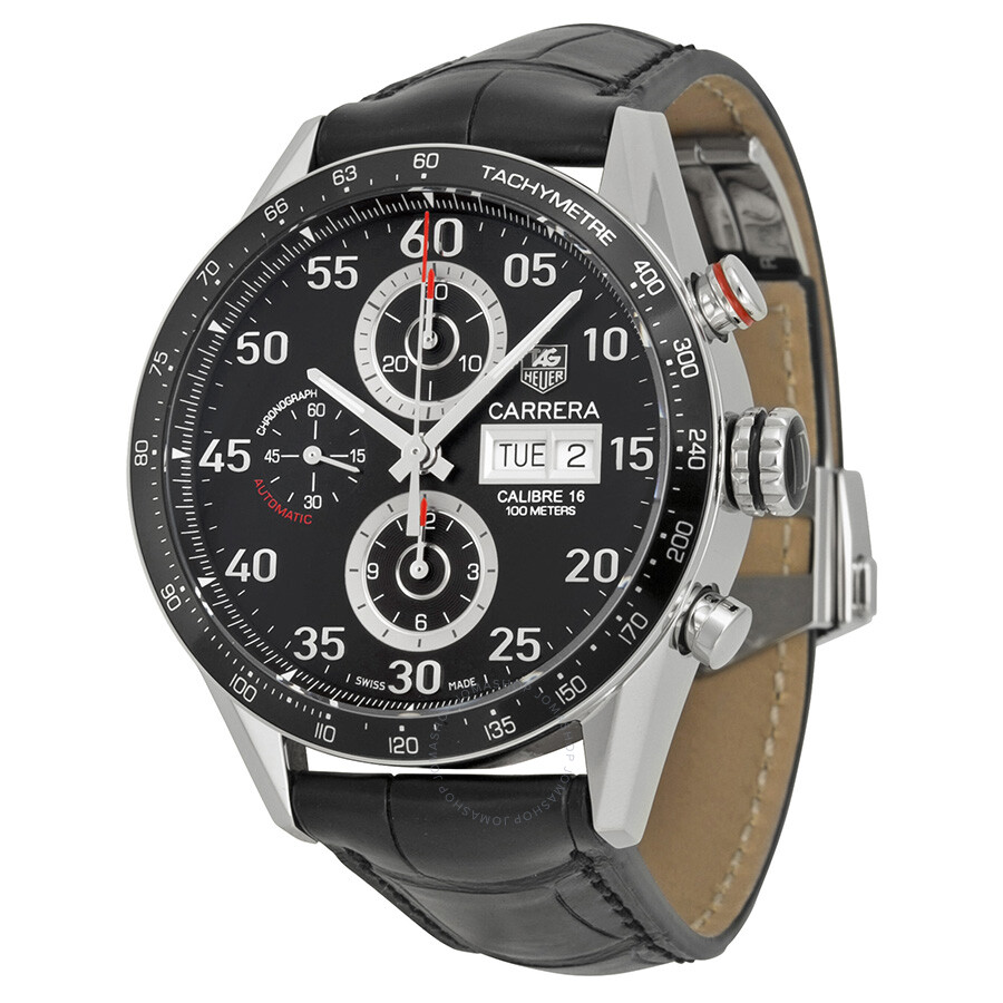 Tag heuer carrera day date men 39 s watch cv2a10 fc6235 carrera tag heuer watches jomashop for Tag heuer carrera