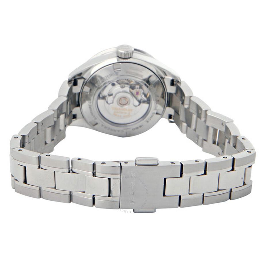 1354c2dc4441 Tag Heuer Carrera Diamond Ladies Watch WV2412.BA0793 - Carrera - Tag ...