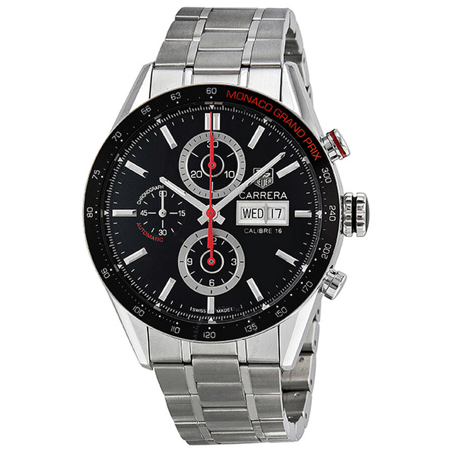 tag heuer carrera monaco grand prix automatic chronograph men 39 s watch cv2a1f ba0796 carrera. Black Bedroom Furniture Sets. Home Design Ideas