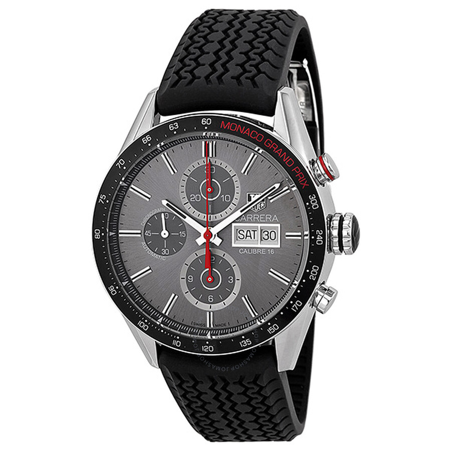 tag heuer carrera monaco grand prix chronograph automatic anthracite dial men 39 s watch cv2a1m. Black Bedroom Furniture Sets. Home Design Ideas
