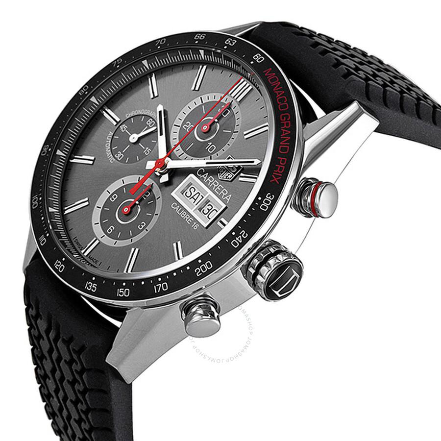 tag heuer carrera monaco grand prix chronograph automatic anthracite dial men 39 s watch cv2a1m. Black Bedroom Furniture Sets. Home Design Ideas
