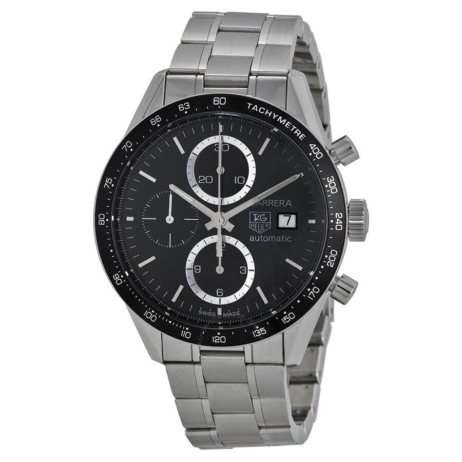 Tag heuer carrera tachymeter men 39 s special edition juan manuel fangio watch cv2010 ba0794 for Tag heuer carrera