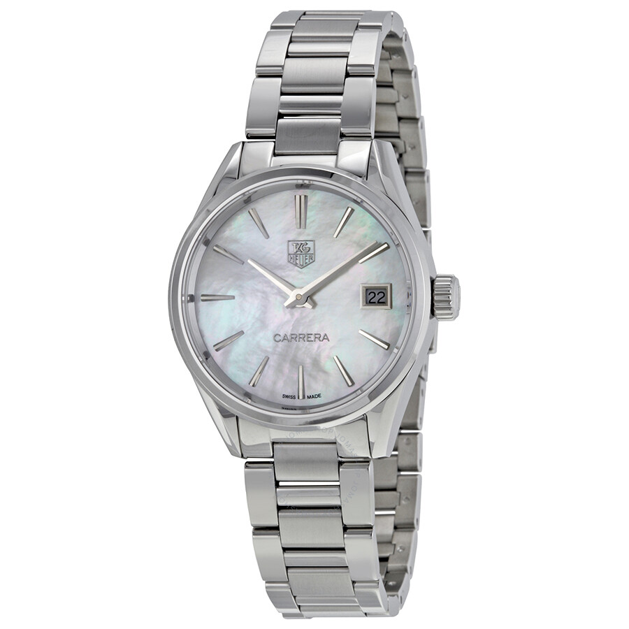 cd4499aeb8269 Tag Heuer Carrera Mother of Pearl Dial Ladies Watch WAR1311.BA0778 ...