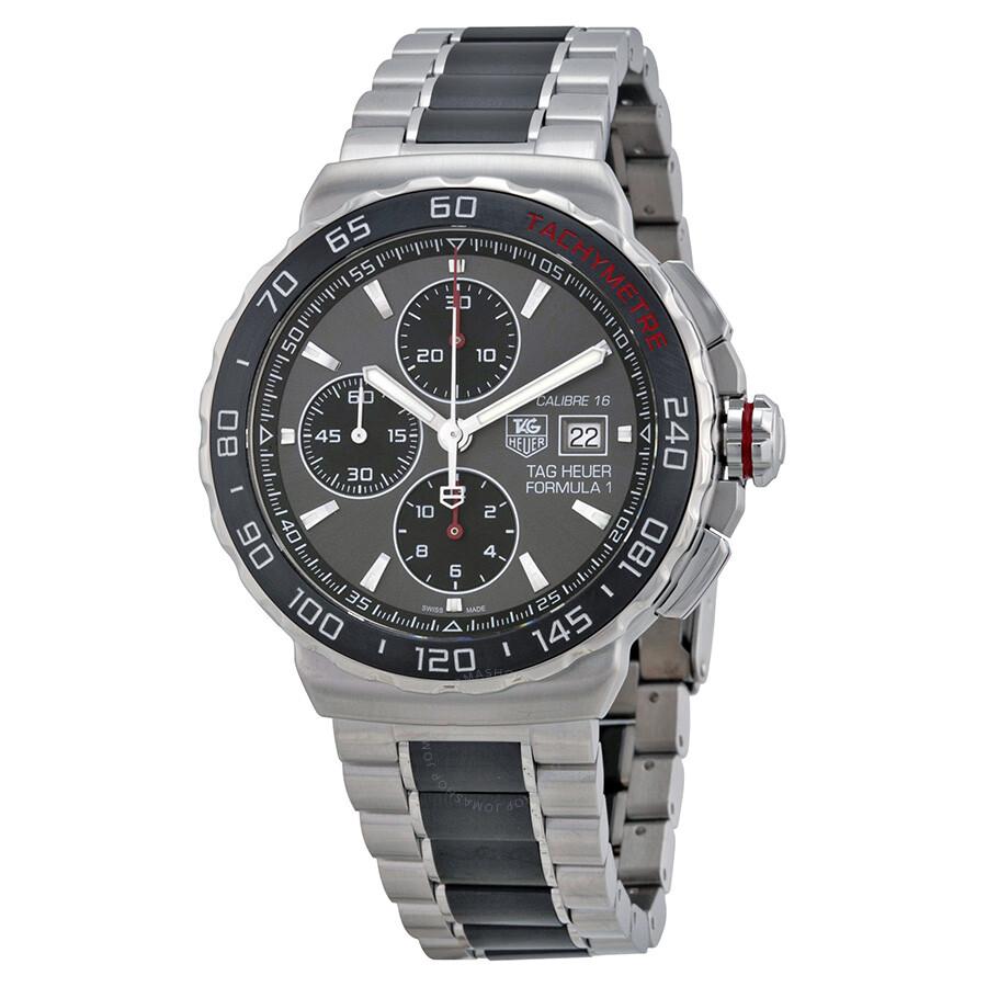 a9e9e9c2ff0e Tag Heuer Formula 1 Automatic Chronograph Men s Watch CAU2011.BA0873 ...