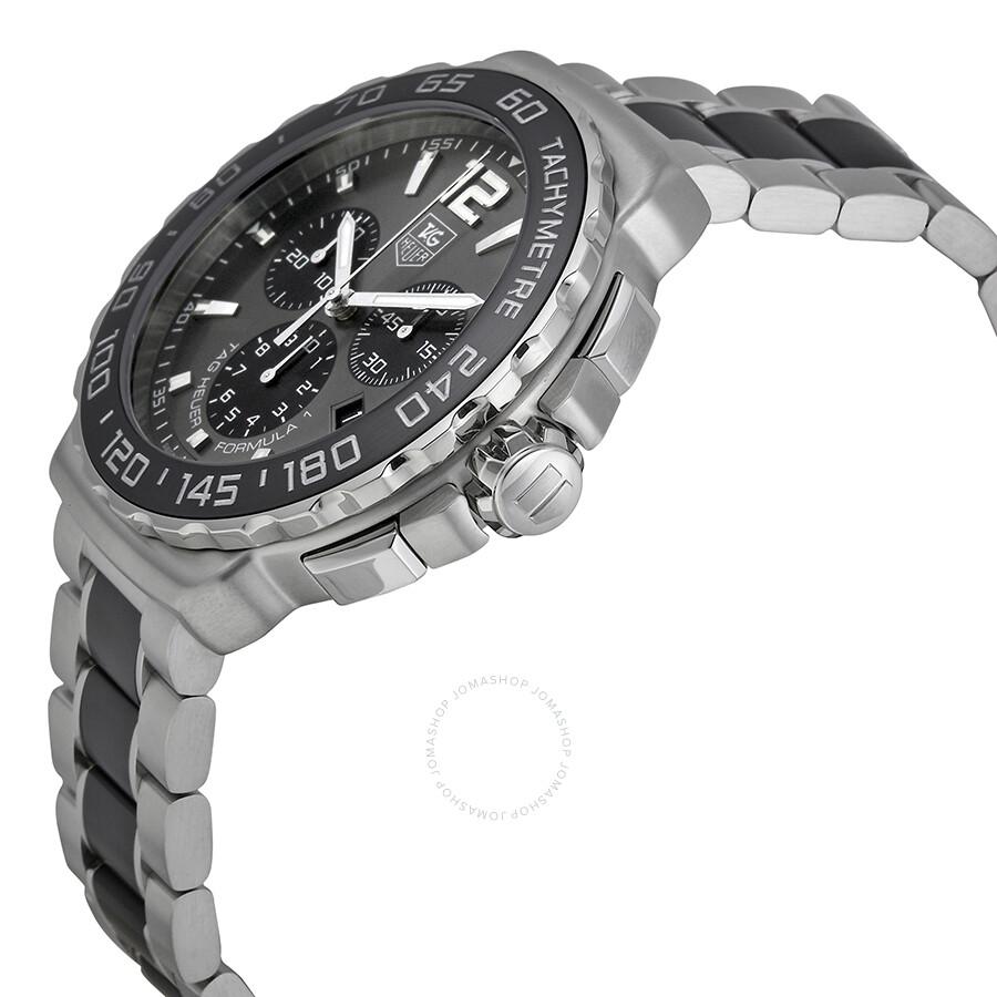 89d6a5d12d2 BA0869 Tag Heuer Formula 1 Anthracite Sunray Dial Men s Watch CAU1115.