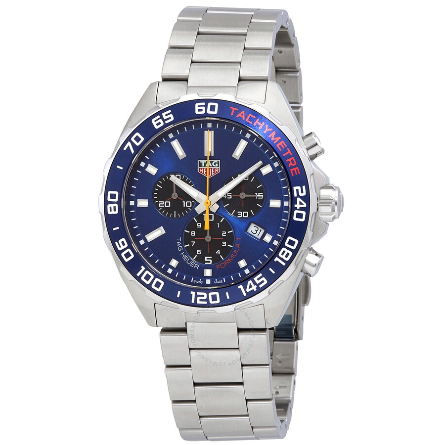 Tag Heuer Formula 1 Aston Martin Red Bull Racing Chronograph Quartz Blue Dial Men S Limited Edition Watch Caz101ab Ba0842 Caz101ab Ba0842 Tag Heuer Formula 1 Jomashop