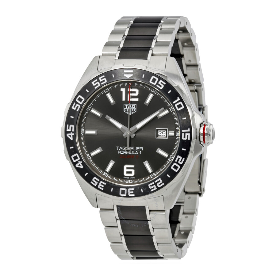 tag heuer formula 1 automatic men 39 s watch waz2011 ba0843. Black Bedroom Furniture Sets. Home Design Ideas