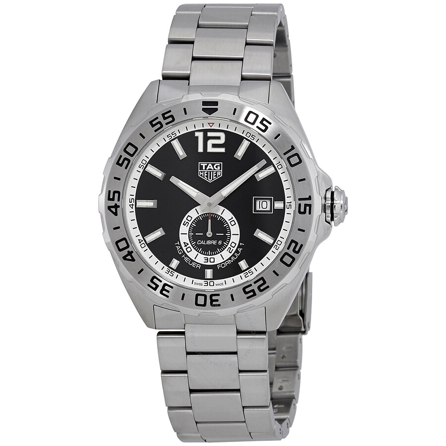 Tag heuer formula 1 automatic black dial men 39 s watch waz2012 ba0842 formula 1 tag heuer for Tag heuer automatic