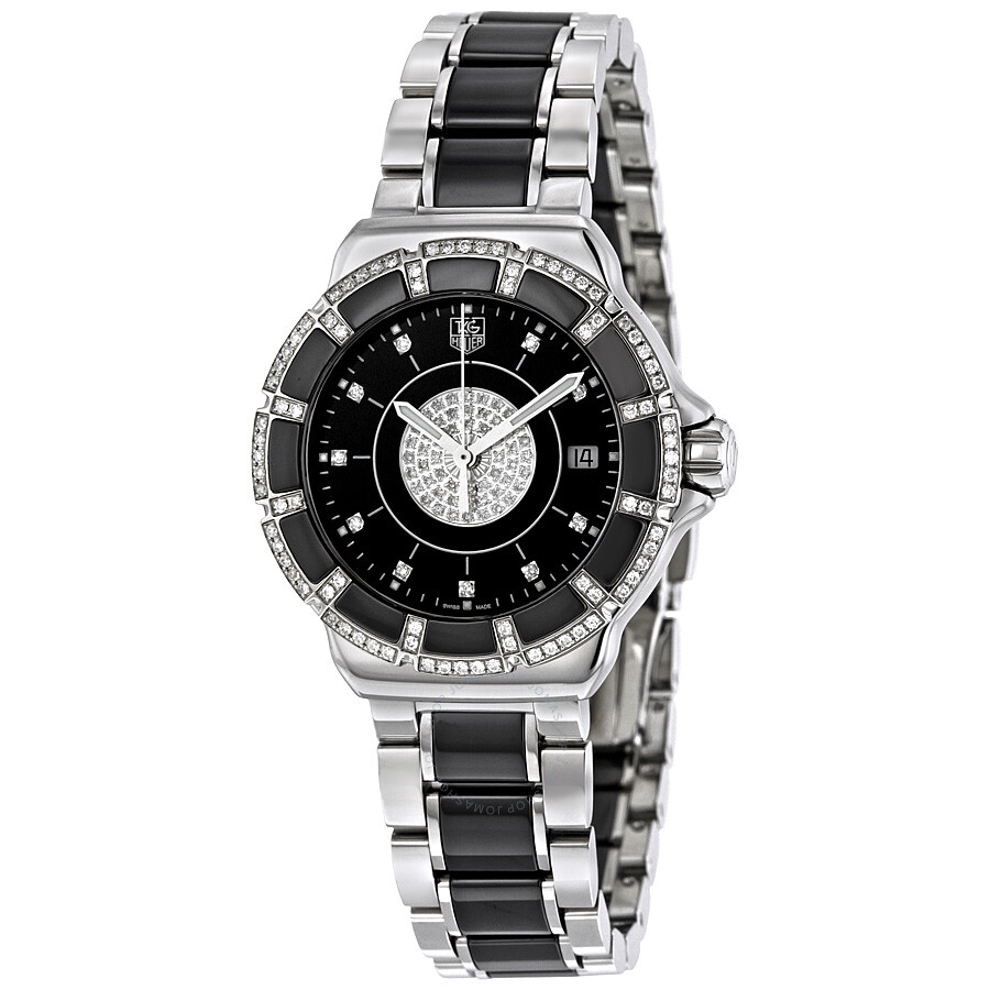 9fa7b952fa7 Tag Heuer Formula 1 Black Dial Ladies Watch WAH1219.BA0859 - Formula ...