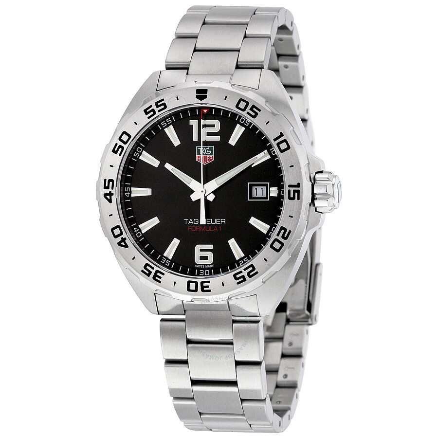 tag heuer formula 1 black dial men s watch waz1112 ba0875 tag heuer formula 1 black dial men s watch waz1112