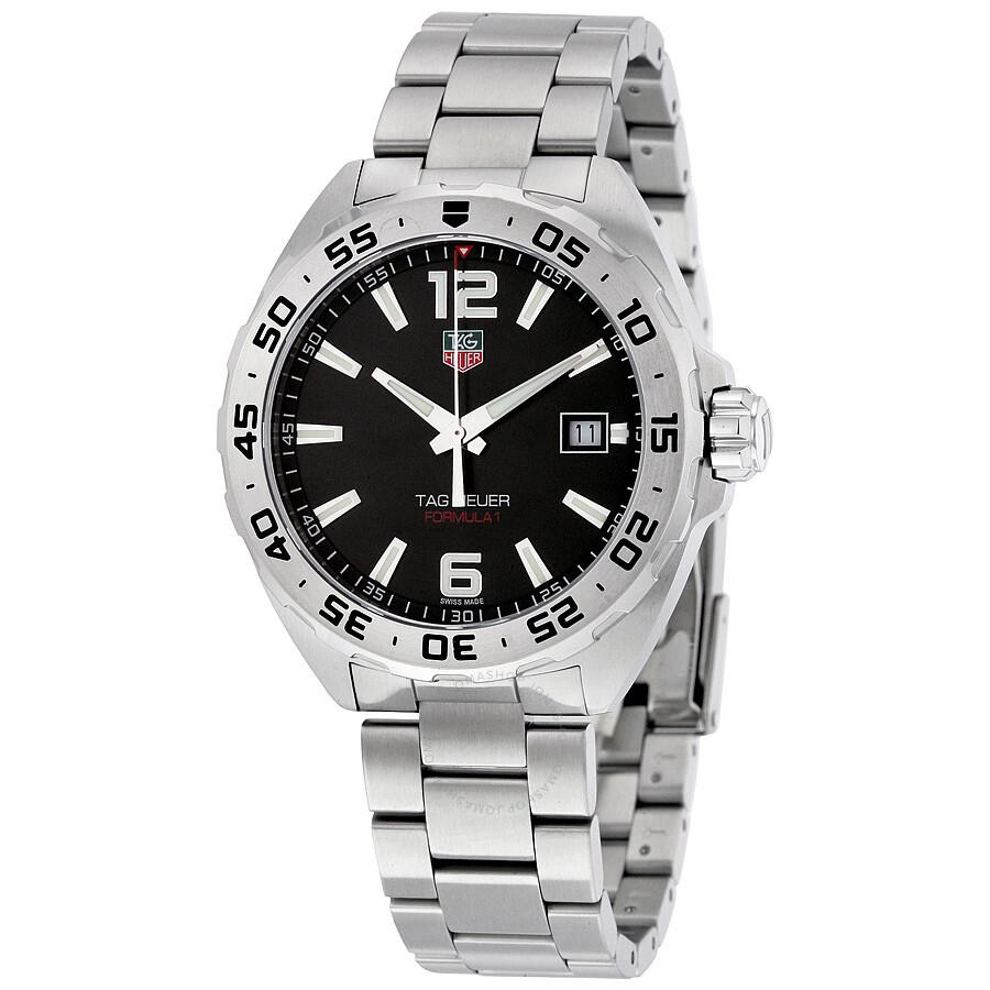 tag heuer formula 1 black dial men s watch waz1112 ba0875 tag heuer formula 1 black dial men s watch waz1112