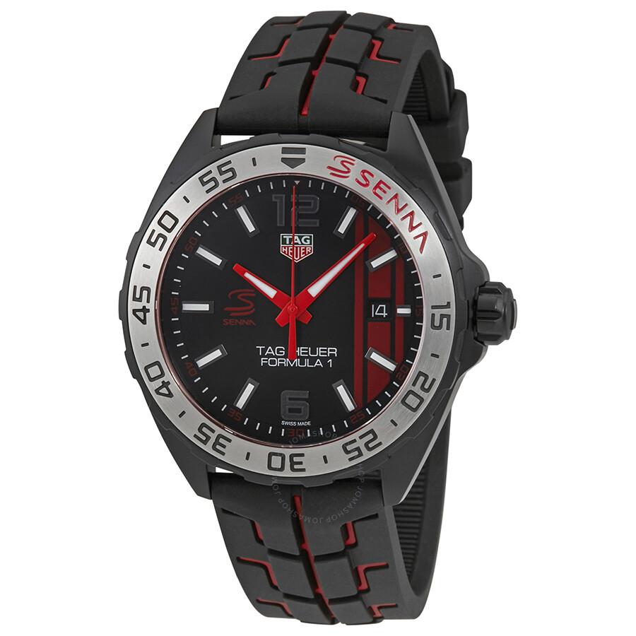 6ac8e3e77d0 Tag Heuer Formula 1 Black Opalin Dial Men s Watch WAZ1014.FT8027 ...
