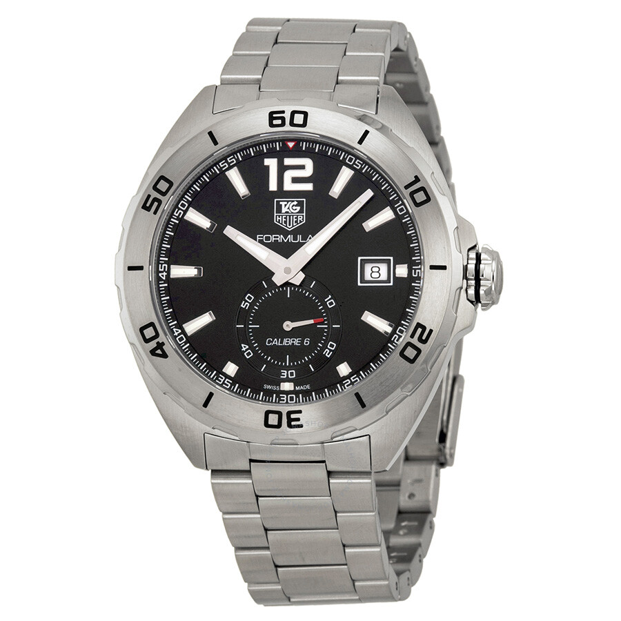 403bc2dadc2 Tag Heuer Formula 1 Calibre 6 Automatic Black Dial Stainless Steel Men s  Watch WAZ2110BA0875 ...