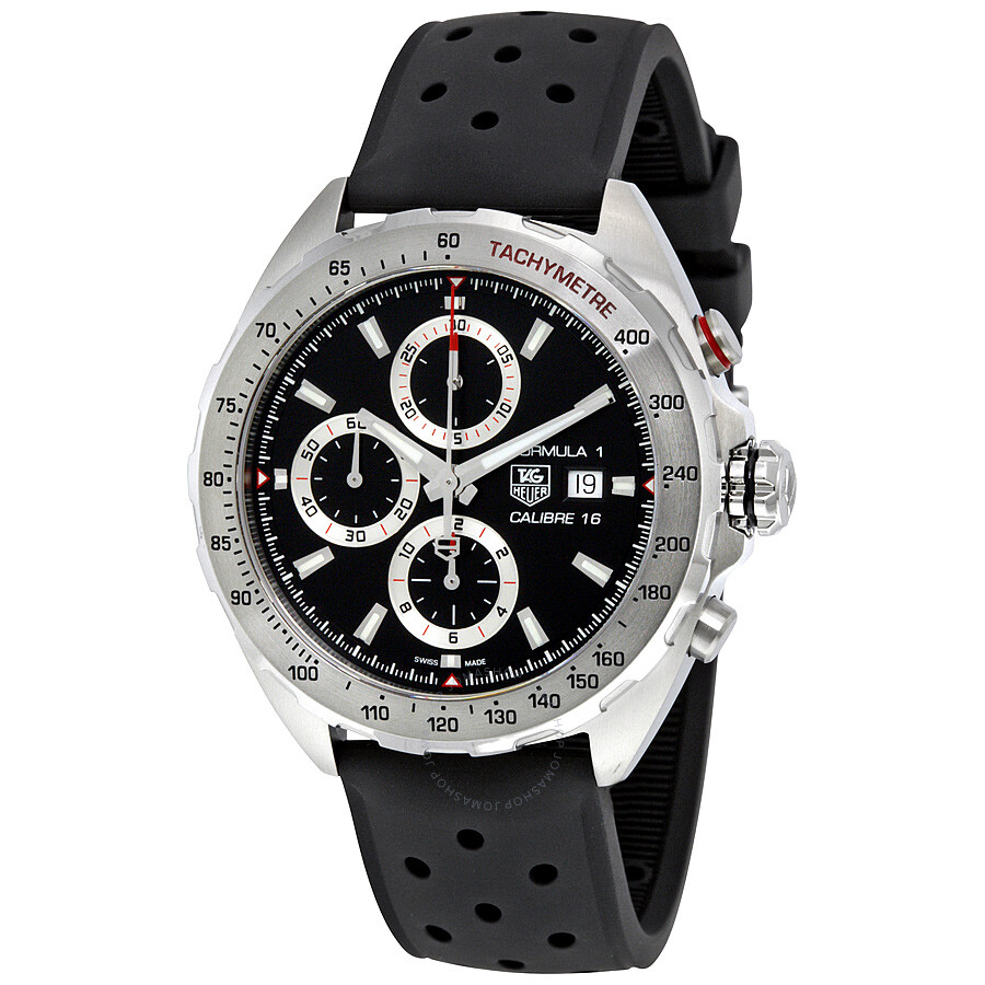 tag heuer formula 1 chronograph automatic men 39 s watch. Black Bedroom Furniture Sets. Home Design Ideas