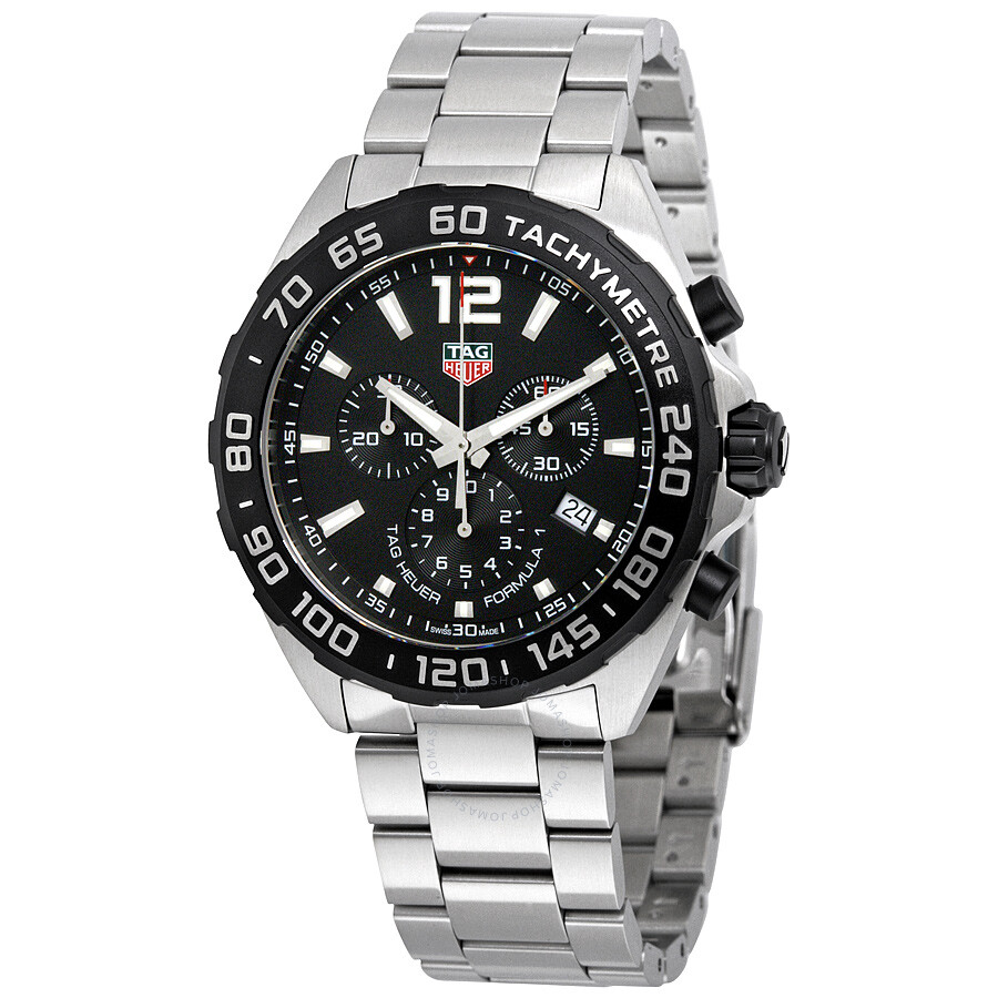 1e5b46d25e96 Tag Heuer Formula 1 Chronograph Black Dial Men s Watch CAZ1010 ...