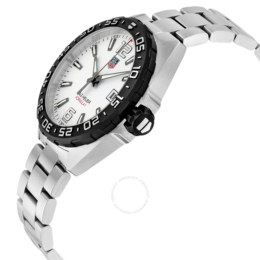 76d7b753bb0a Tag Heuer Formula 1 White Dial Men s Watch WAZ1111.BA0875 - Formula ...
