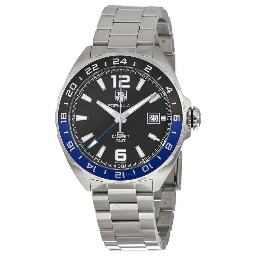 Tag Heuer Formula One Automatic Black Dial Men's Watch ...