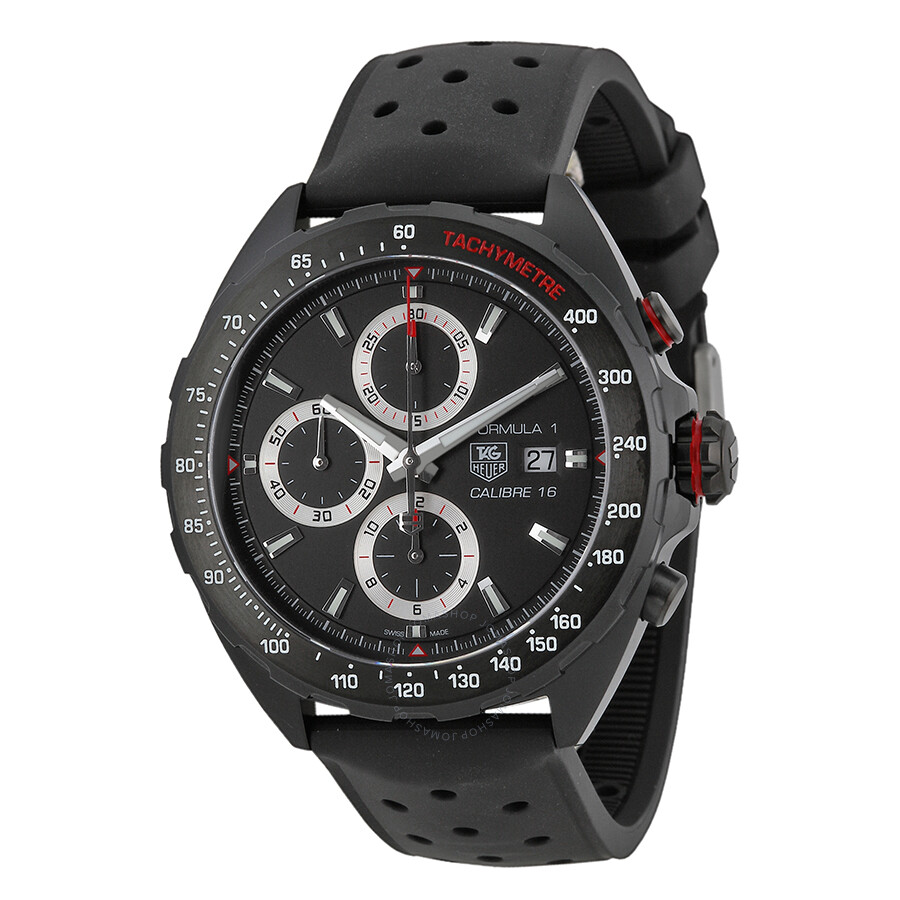 3e1ea3e50f5 Tag Heuer Formula One Chronograph Black Dial Men s Watch CAZ2011 ...