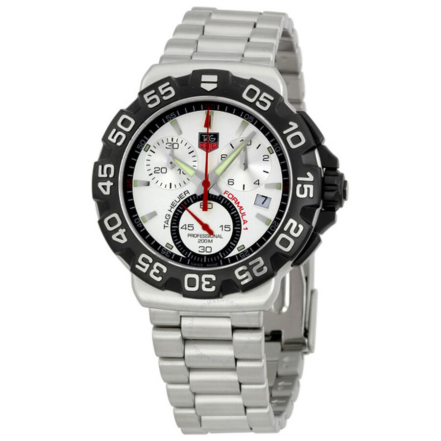 74933fe3c7c1 Tag Heuer Formula One F1 Chronograph Steel Men s Watch CAH1111 ...