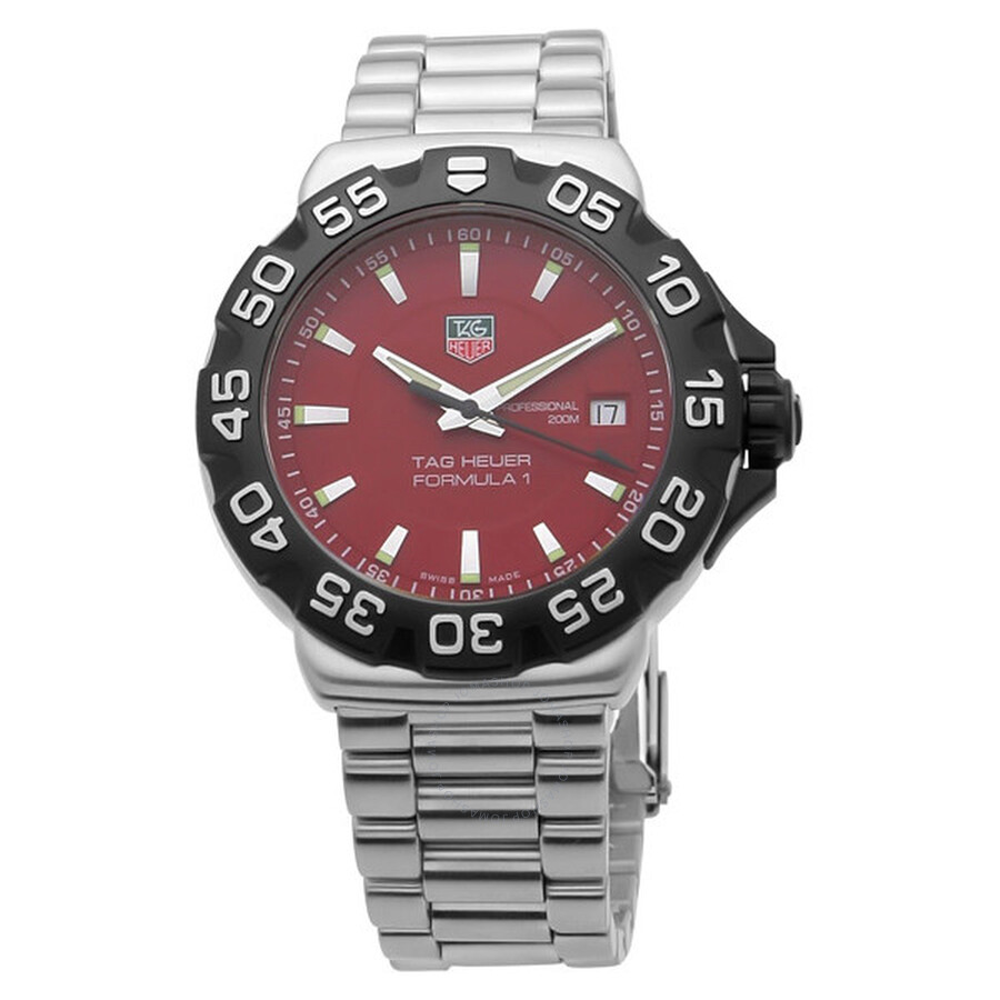 47bbbc3de176 Tag Heuer Formula One Steel Red Men s Watch WAH1112.BA0850 - Formula ...