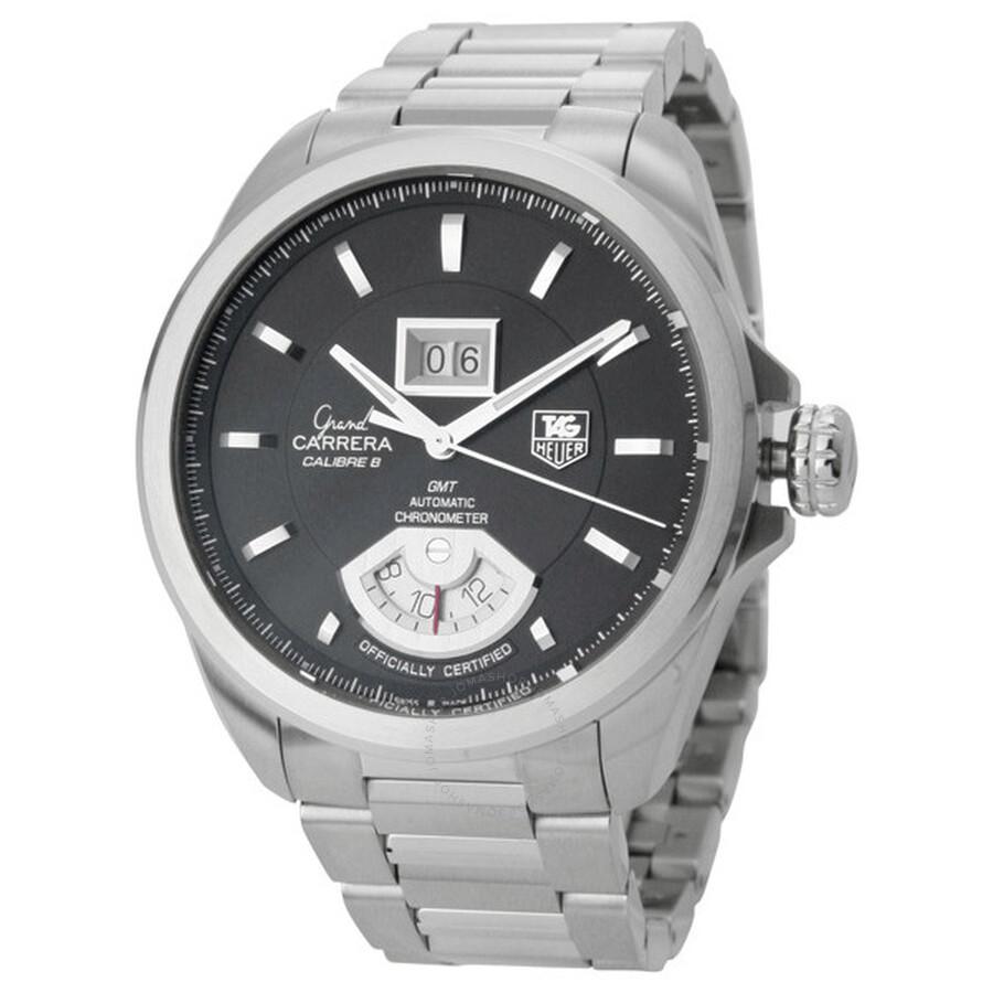 640c16451b13 Tag Heuer Grand Carrera Automatic GMT Chrono Men s Watch WAV5111 ...