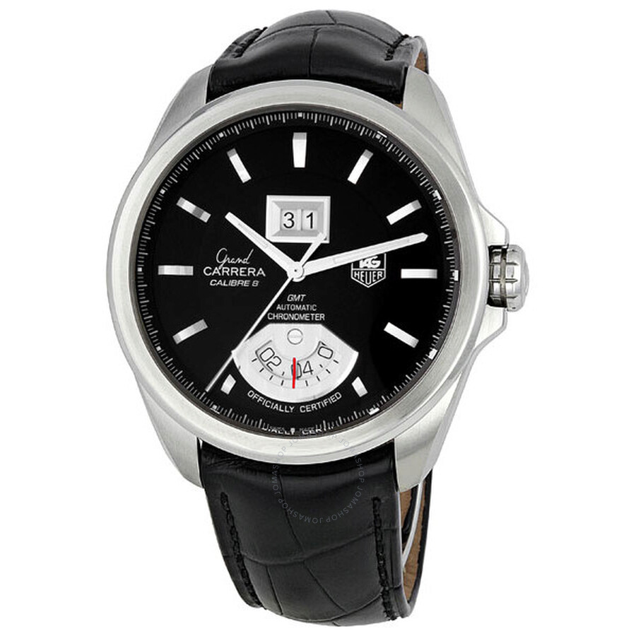 df57a5ec07d3 Tag Heuer Grand Carrera Automatic GMT Chrono Men s Watch WAV5111 ...