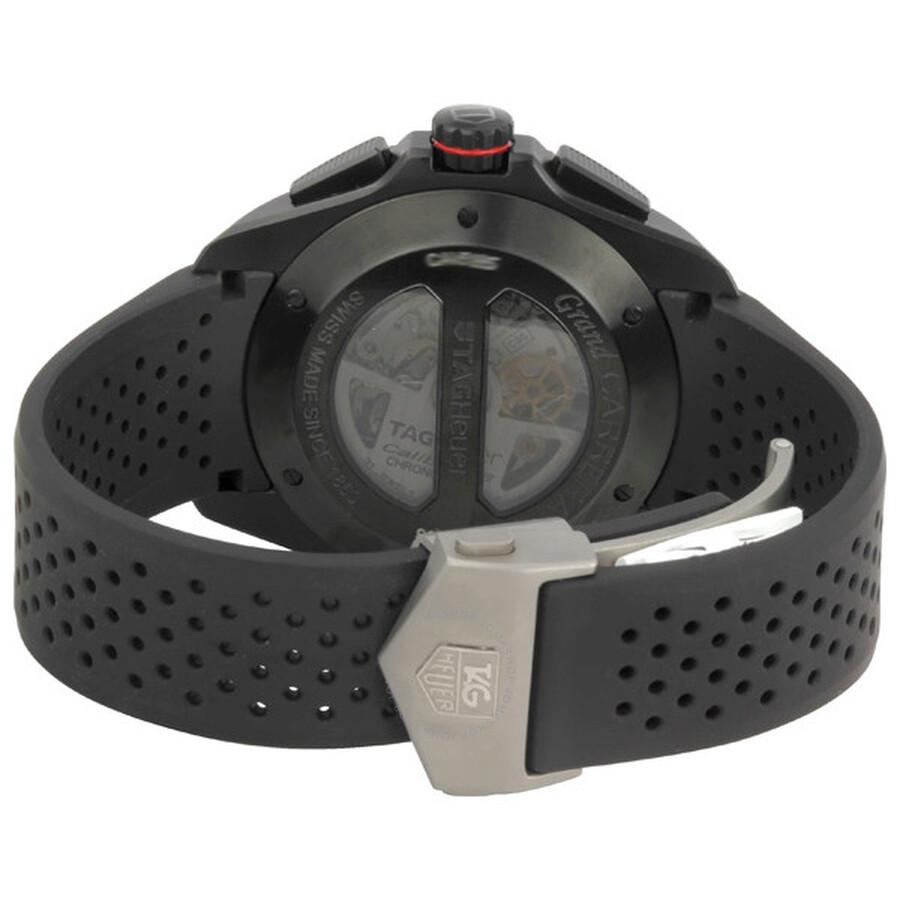 f78d077b9ef Tag Heuer Grand Carrera Calibre 36 Men's Watch CAV5185.FT6020 ...
