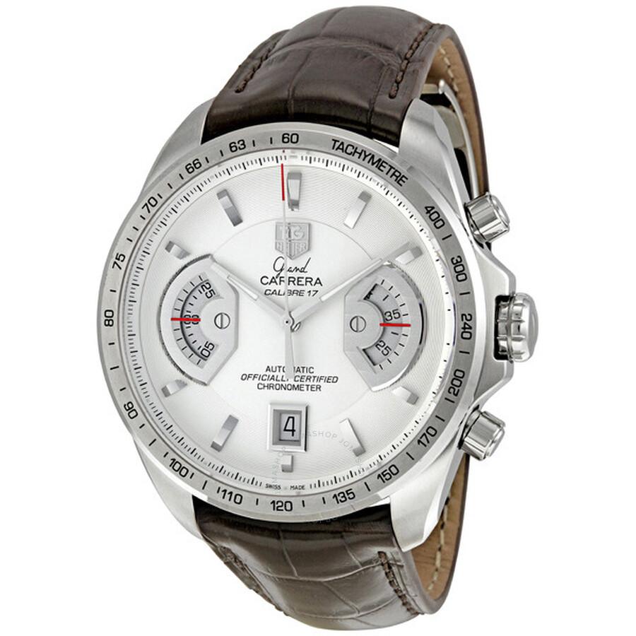 199f649bed1e Tag Heuer Grand Carrera Chronograph Calibre Men s Watch CAV511B ...