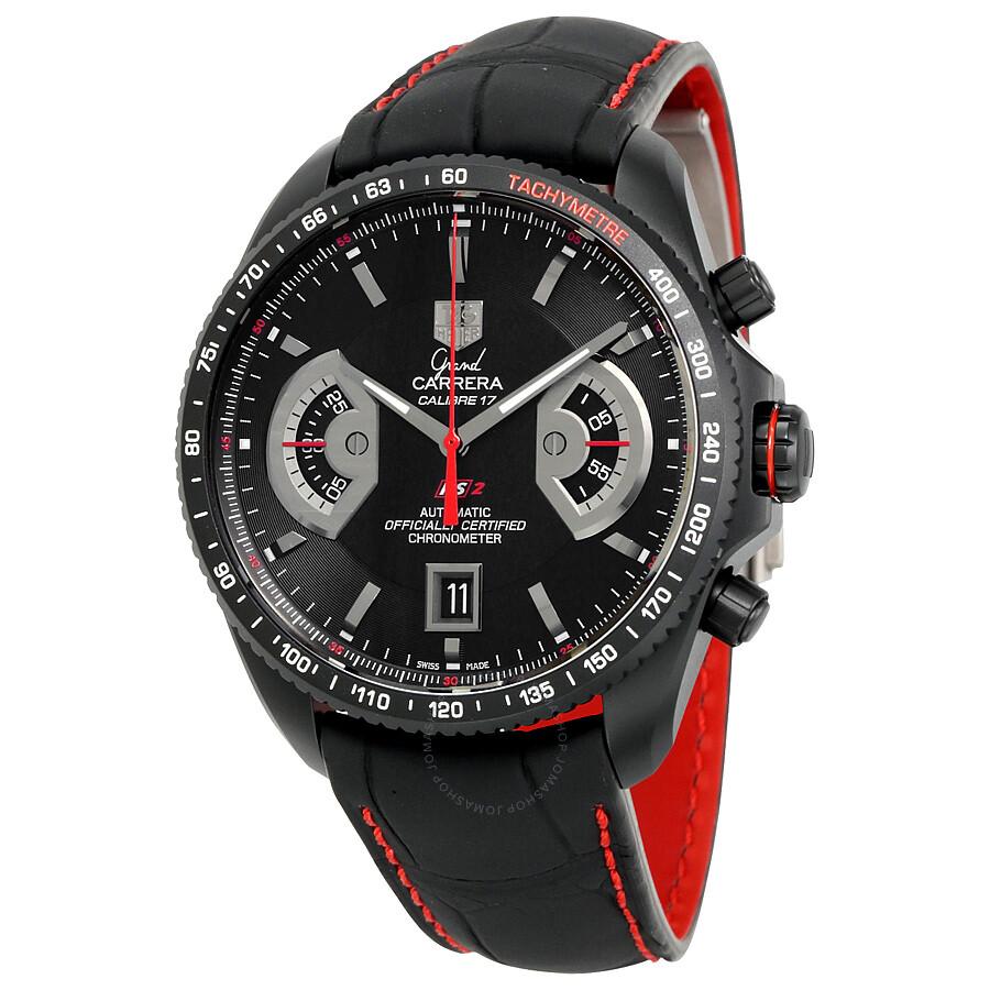 7745315336a8 TAG Heuer Grand Carrera Chronometer Men s Watch CAV518B.FC6237 ...
