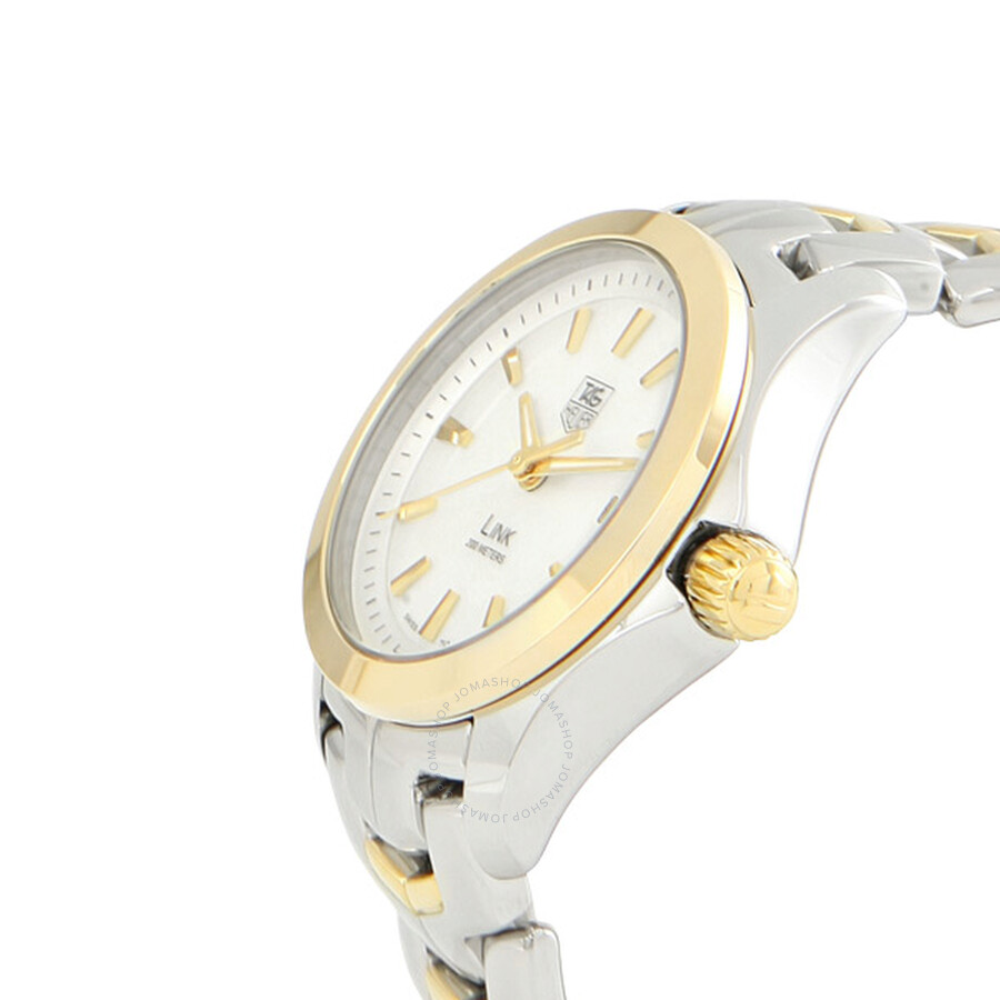 3745fc2d44b0 Tag Heuer Link 18kt Gold Two-Tone Ladies Watch WJF1352.BB0581 - Link ...
