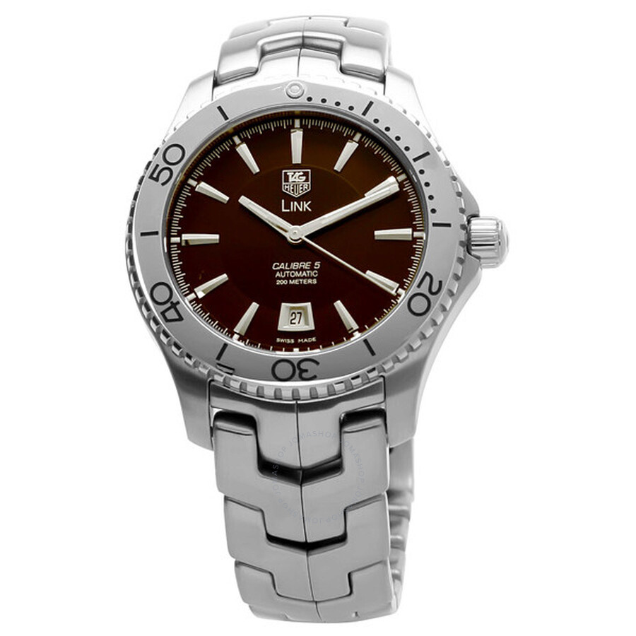 06033c72063 Tag Heuer Link Automatic Men s Watch WJ201D.BA0591 - Link - Tag ...