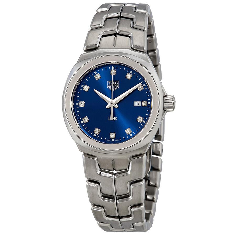 Link Blue Diamond Dial Ladies Watch WBC1318.BA0600
