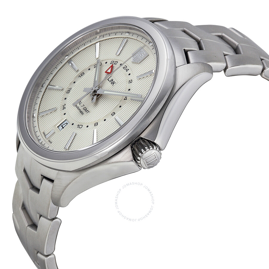 tag heuer link price link automatic silver stainless